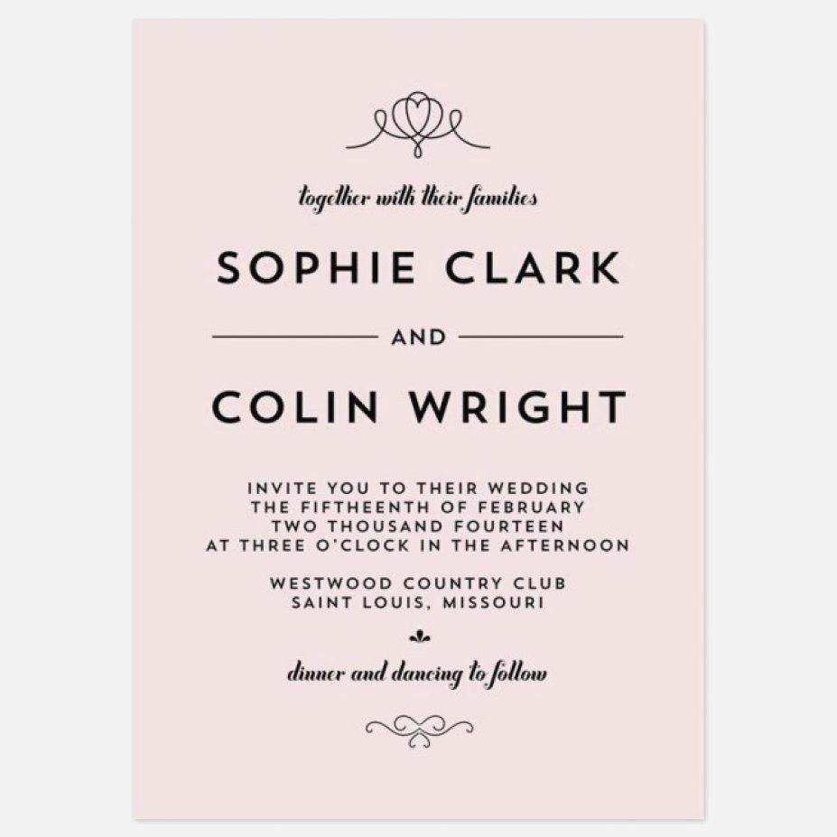 Cute Wedding Invitation Wording Creative Wedding Invitation Wording