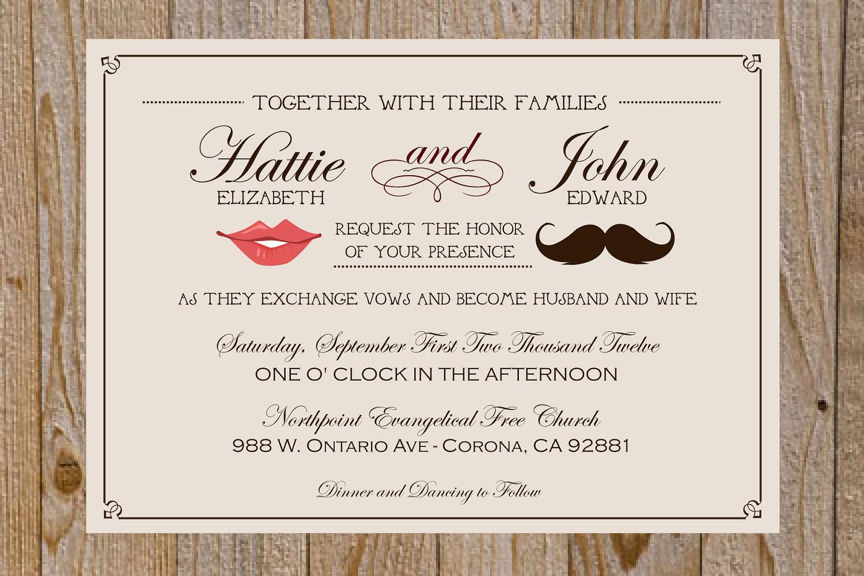 Cute Wedding Invitation Wording Fun Wedding Invitations Wedding