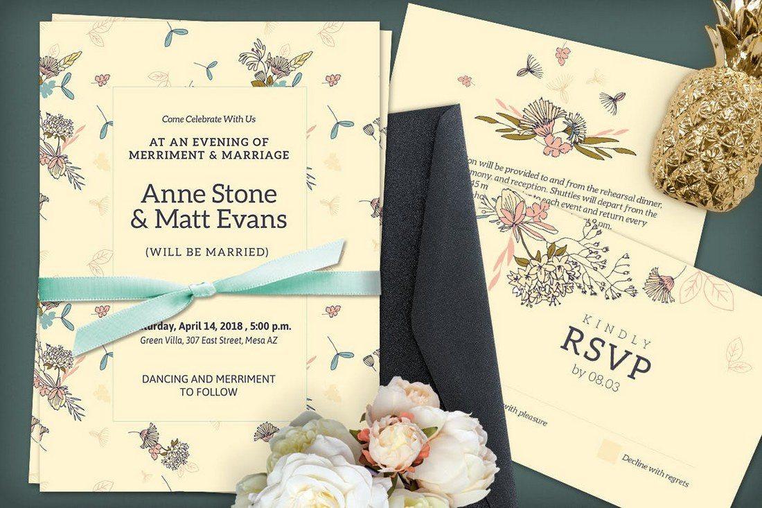Designer Wedding Invitations 50 Wonderful Invitation Card Design Samples Shack