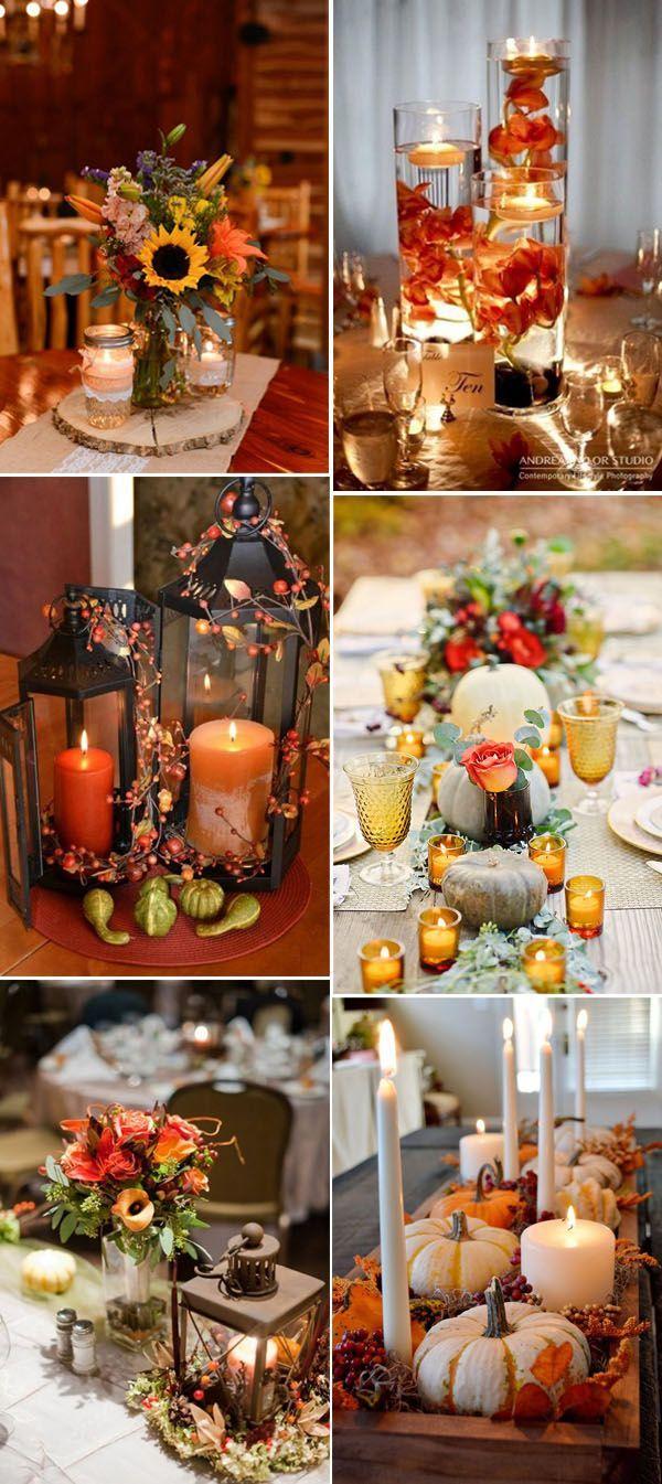 Diy Fall Wedding Ideas Wedding Decoration Fall Wedding
